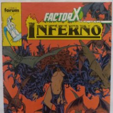 Cómics - Comic Factor X-INFERNO,Numero 18,Stan Lee,Comics Forum,1989,Marvel - 139832110