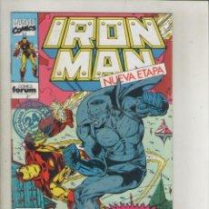 Cómics: IRON MAN-VOL. 2-FORUM-AÑO 1992-NUEVA ETAPA-COLOR-FORMATO GRAPA-Nº 2-PIEDRA FRIA. Lote 139869046