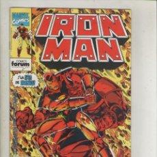 Cómics: IRON MAN-VOL. 2-FORUM-AÑO 1992-NUEVA ETAPA-COLOR-FORMATO GRAPA-Nº 4-VIVIR O MORIR EN L.A... Lote 139870214
