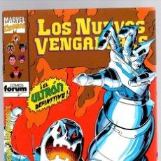 Cómics: LOS NUEVOS VENGADORES. EL ULTRÓN DEFINITIVO. Nº 83. FORUM, PLANETA, AÑO 1993. Lote 139956904