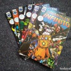 Cómics: EL GUANTELETE DEL INFINITO - MINISERIE COMPLETA - JIM STARLIN & GEORGE PEREZ - MUY BUEN ESTADO. Lote 140004722