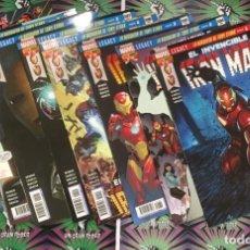 Cómics: MARVEL LEGACY. EL INVENCIBLE IRONMAN #87-94 LA BÚSQUEDA DE TONY STARK (COMPLETA). Lote 140052726