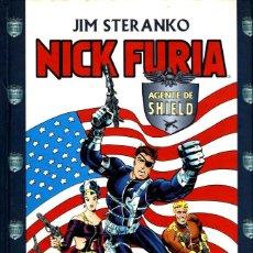Cómics: NICK FURIA AGENTE DE SHIELD (FORUM, 2000) DE JIM STERANKO. TAPA DURA, 246 PGS.. Lote 140071114