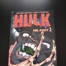 Cómics: HULK - MR. FIXIT Nº 2 - PETER DAVID - JEFF PURVES. Lote 140146921