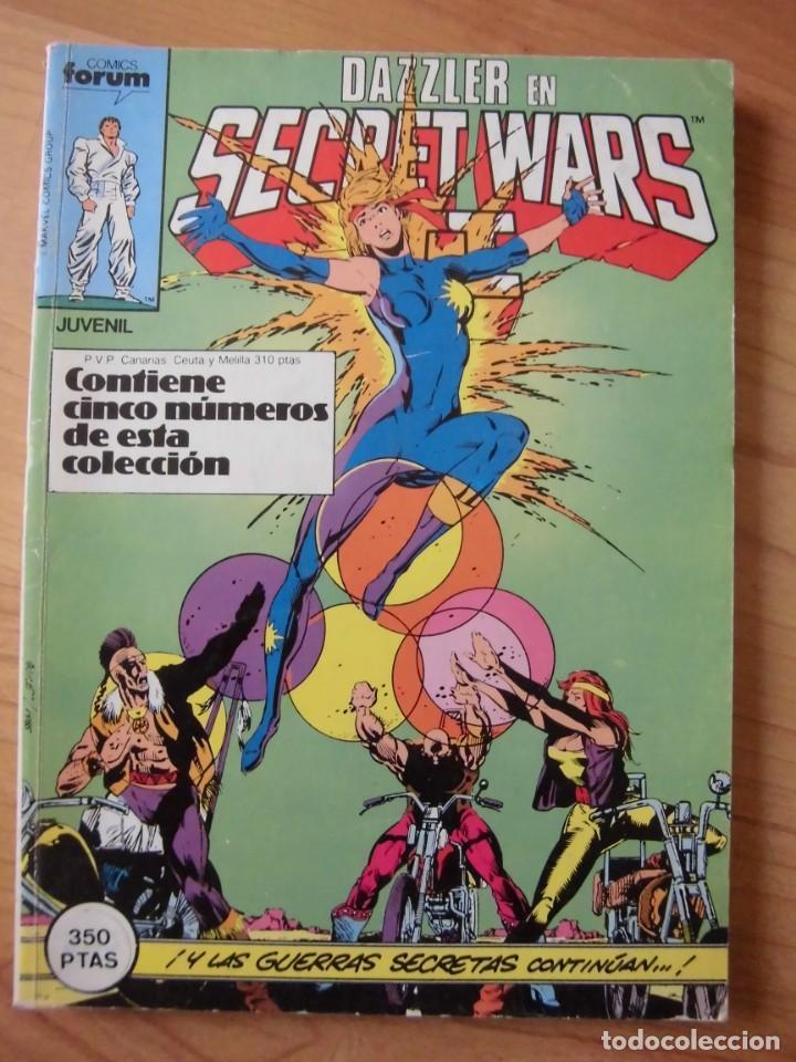 DAZZLER EN SECRET WARS CONTIENE NÚMEROS 26, 27, 28, 29 Y 30 COMICS FORUM (Tebeos y Comics - Forum - Retapados)