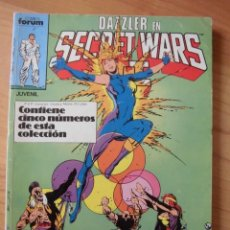 Cómics: DAZZLER EN SECRET WARS CONTIENE NÚMEROS 26, 27, 28, 29 Y 30 COMICS FORUM. Lote 140187366