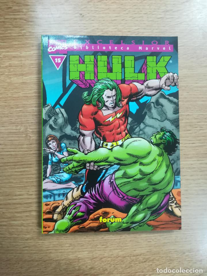 BIBLIOTECA MARVEL HULK #15 (Tebeos y Comics - Forum - Hulk)
