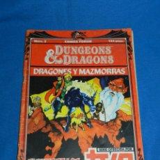 Cómics: (M1) DRAGONES Y MAZMORRAS NUM 2 COMICS FORUM DUNGEONS & DRAGONS , SERIE TVE 1985. Lote 140227594