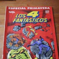 Cómics: LOS 4 FANTÁSTICOS. ESPECIAL PRIMAVERA. . Lote 140364598
