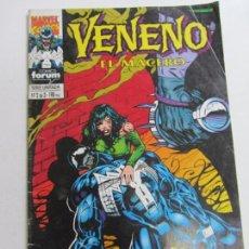 Cómics: VENENO EL MACERO N º 2 DE 3 FORUM. MARVEL SDX1. Lote 277144893