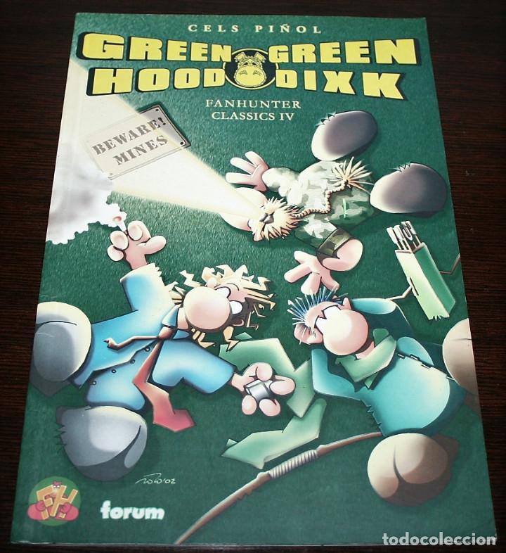GREEN HOOD GREEN DIXK - FANHUNTER CLASSICS IV - CELS PIÑOL - FORUM - 2003 (Tebeos y Comics - Forum - Otros Forum)
