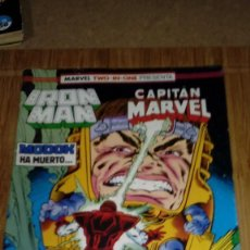 Cómics: IRON MAN CAPITAN MARVEL Nº 48 MARVEL TWO IN ONE FORUM. Lote 108810663