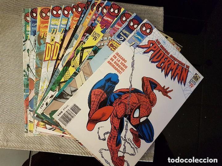 LAS NUEVAS AVENTURAS DE SPIDERMAN VOL. 1, LOTE DE 14 NÚMEROS, FALTA EL Nº 12 - FORUM - COMO NUEVOS (Tebeos y Comics - Forum - Spiderman)