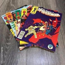 Cómics: LOTE SPIDERMAN - FORUM - 1983 (7 CÓMICS). Lote 140527774