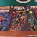 Cómics: LOTE DE 3 COMICS DE SPIDERMAN - DIFICILES DE CONSEGUIR - FORUM - COMO NUEVOS. Lote 140530446
