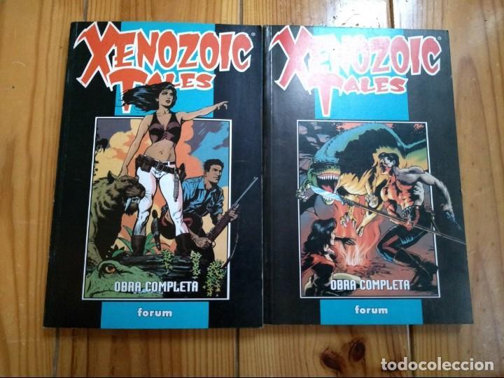 XENOZOIC TALES COMPLETA EN 2 TOMOS RETAPADOS - PERFECTO ESTADO (Tebeos y Comics - Forum - Otros Forum)