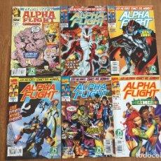 Cómics - Alpha Flight Origenes + Vol. 2 numeros 1-5 Editorial Forum - 94728023
