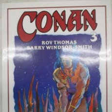Cómics: CONAN - BARRY WINDSOR SMITH - ROY THOMAS Nº 3 - FORUM -TAPA DURA CON SOBRECUBIERTAS. Lote 140686258
