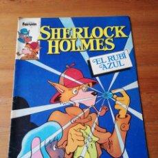 Cómics: SHERLOCK HOLMES. NÚMERO 2. EL RUBÍ AZUL. . Lote 140712894