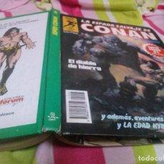 Cómics: SUPER CONAN - TOMO 6. EL DIABLO DE HIERRO - LOMO VERDE 1ª EDICION. Lote 140754706
