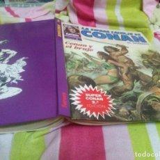Cómics: SUPER CONAN TOMO Nº 2 -CONAN Y EL BRUJO - TAPA DURA 2ª EDICION. Lote 140755870