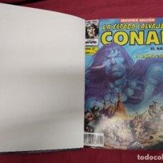 Cómics: LA ESPADA SALVAJE DE CONAN. SEGUNDA EDICION. DEL Nº 31 AL 40 EN TOMO ENCUADERNADO. FORUM.. Lote 140796810