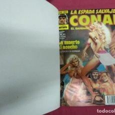 Cómics: LA ESPADA SALVAJE DE CONAN. DEL Nº 81 AL 90 MAS ESPECIAL INVIERNO EN TOMO ENCUADERNADO. FORUM.. Lote 140797594