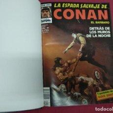 Cómics: LA ESPADA SALVAJE DE CONAN. DEL Nº 91 AL 100 EN TOMO ENCUADERNADO. FORUM.. Lote 140797946