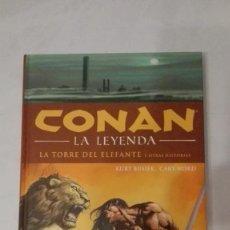 Cómics: CONAN LA LEYENDA TOMO Nº 3 LA TORRE DEL ELEFANTE.. Lote 140802554