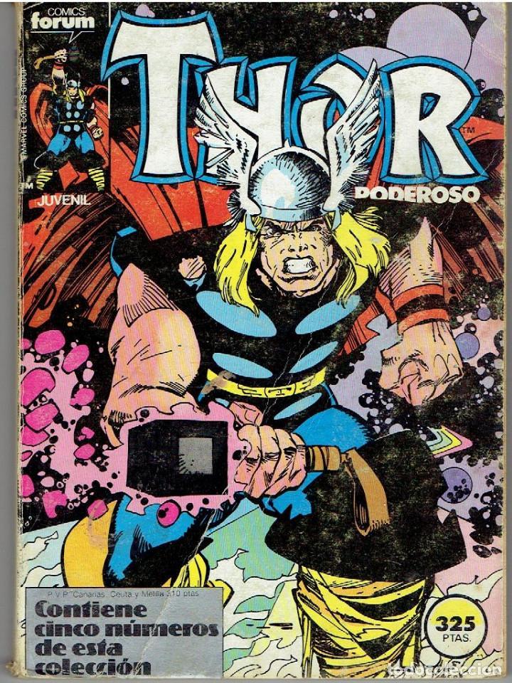 CÓMIC FORUM THOR EL PODEROSO Nº 31 AL 35 (Tebeos y Comics - Forum - Thor)