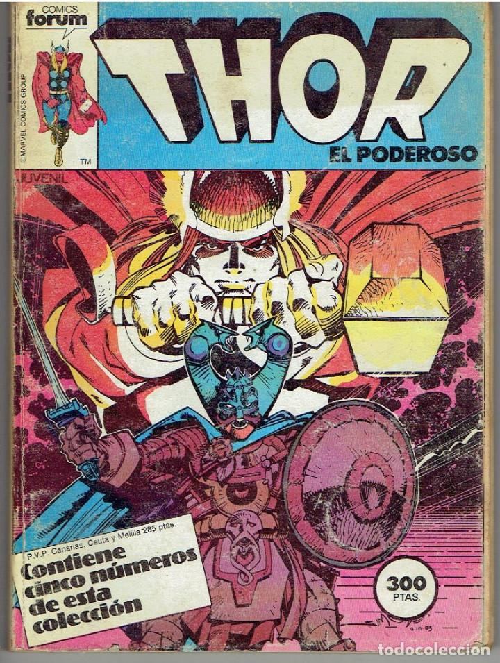 CÓMIC FORUM THOR EL PODEROSO Nª 26 AL 30 (Tebeos y Comics - Forum - Thor)
