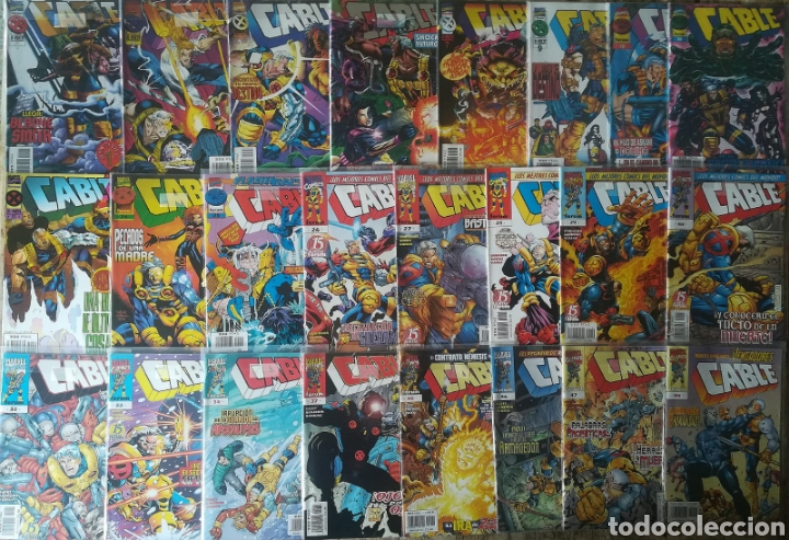 CABLE VOL 2 24 GRAPAS (Tebeos y Comics - Forum - Otros Forum)