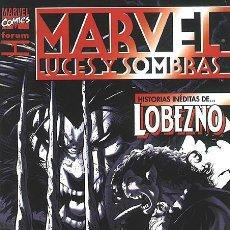Cómics: MARVEL: LUCES Y SOMBRAS - ESPECIAL FORUM.. Lote 140963122