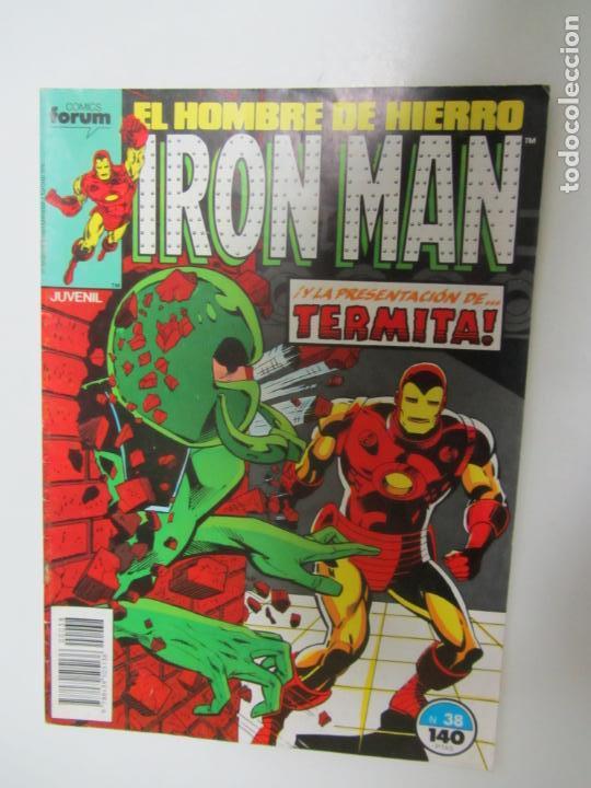 IRON MAN - Nº 38 - COMICS FORUM .C12X1 (Tebeos y Comics - Forum - Iron Man)