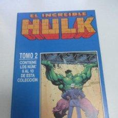 Cómics: EL INCREIBLE HULK, RETAPADO TOMO 2 CON NUMEROS 6 A 10. COMICS FORUM. HULK VOL 3. 1998 E5X1. Lote 141490354