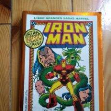 Cómics: IRON MAN - LA SEMILLA DEL DRAGÓN - LIBRO GRANDES SAGAS MARVEL. Lote 141596018