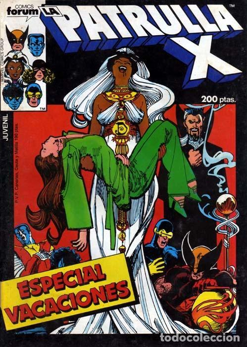 LA PATRULLA-X ESPECIAL VACACIONES 1986 - FORUM (Tebeos y Comics - Forum - Patrulla X)