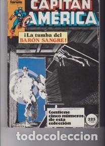 CAPITÁN AMÉRICA. LA TUMBA DEL BARÓN SANGRE. Y UN CÓMIC SORPRESA DE REGALO (Tebeos y Comics - Forum - Capitán América)