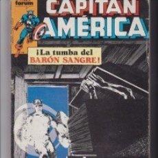 Cómics: CAPITÁN AMÉRICA. LA TUMBA DEL BARÓN SANGRE. Y UN CÓMIC SORPRESA DE REGALO. Lote 141739270