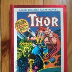 Comics: THOR: APRENDIZ DE DIOS - LIBRO GRANDES SAGAS MARVEL. Lote 141777126