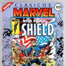 Cómics: NICK FURY AGENT OF SHIELD. CLASICOS MARVEL. CONTIENE CINCO NUMEROS. 1 AL 5. FORUM, PLANETA, 1988. Lote 141912937