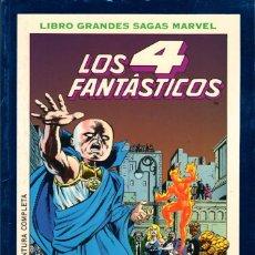 Cómics: LOS 4 FANTÁSTICOS: EL PRINCIPIO DEL FIN Y ÚLTIMO ASALTO -SERIE LIBRO GRANDES SAGAS MARVEL. Lote 142081978