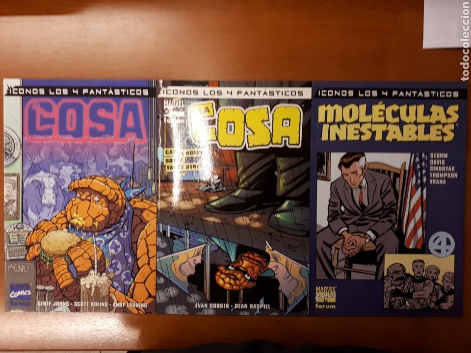ICONOS LOS 4 FANTÁSTICOS: FERIA DE MONSTRUOS, CAE LA NOCHE SOBRE YANCY STREET Y MOLÉCULAS INESTABLES (Tebeos y Comics - Forum - 4 Fantásticos)