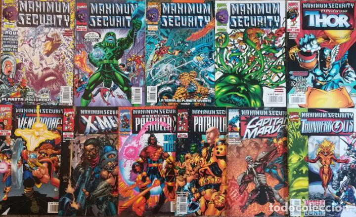 MAXIMUN SECURITY LOTE AMPLIADO 11 GRAPAS (Tebeos y Comics - Forum - Otros Forum)