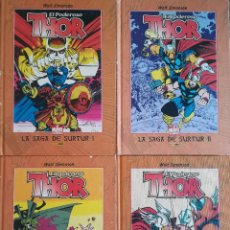 Cómics: EL PODEROSO THOR 1,2,3,4 TOMOS THE BEST OF MARVEL. Lote 142249730