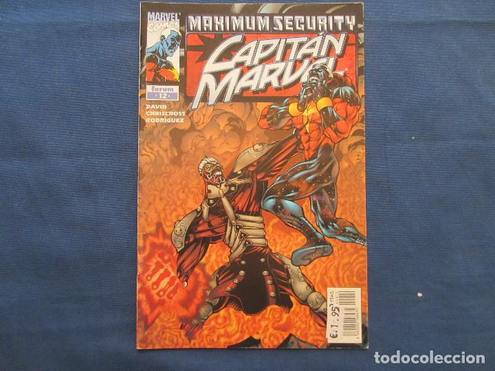 Cómics: MARVEL / CAPITAN MARVEL N.º 12 de PETER DAVID - FORUM 2001 - MAXIMUM SEGURITY SAGA - Foto 10 - 142392090