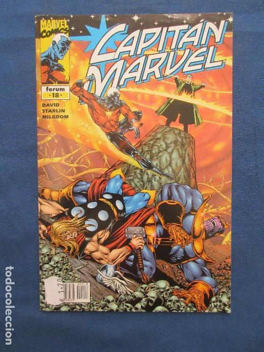 Cómics: MARVEL / CAPITAN MARVEL N.º 18 de PETER DAVID - FORUM 2002 - Foto 8 - 142392822