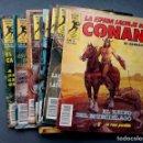 Cómics: LOTE DE 9 NÚMEROS LA ESPADA SALVAJE DE CONAN.SERIE ORO. Lote 142410814