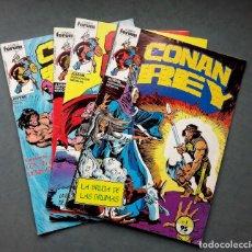 Cómics: LOTE DE4 NÚMEROS CONAN REY.COMICS FORUM. Lote 142412902