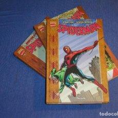 Cómics: SPIDERMAN - TOMOS 1 AL 3 - COMPLETA - STAN LEE Y STEVE DITKO. Lote 142450366